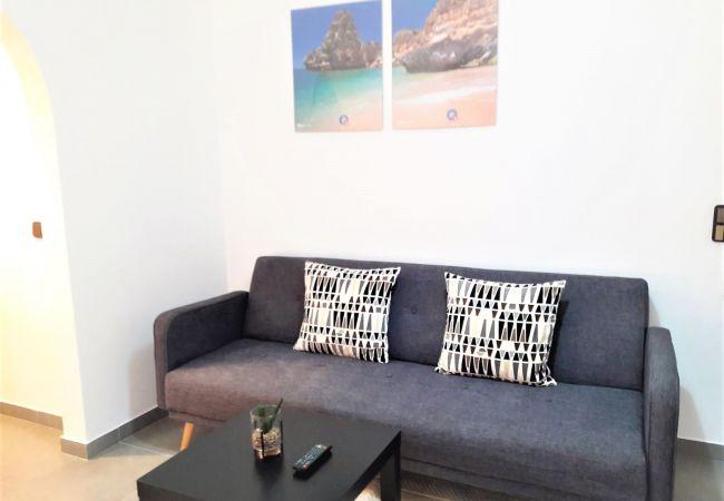 Apartamento em Quarteira - T0 Varandas do Mar R/c Wi-Fi 150M PRAIA