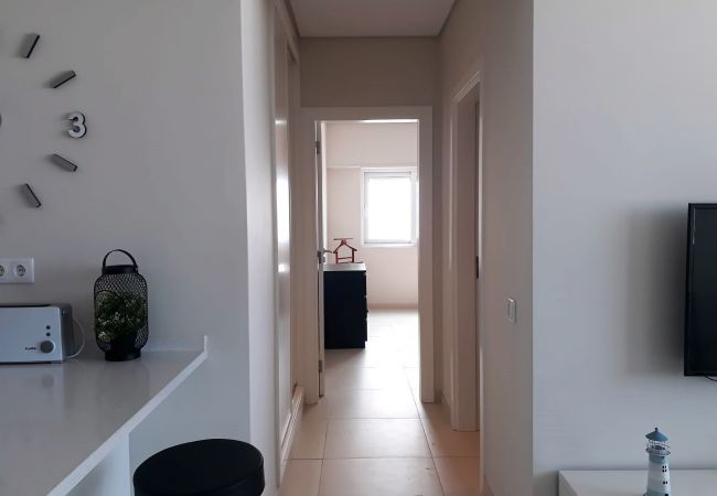 Apartamento em Quarteira - T1 CONFORTO VISTA MAR 80M PRAIA & WIFI