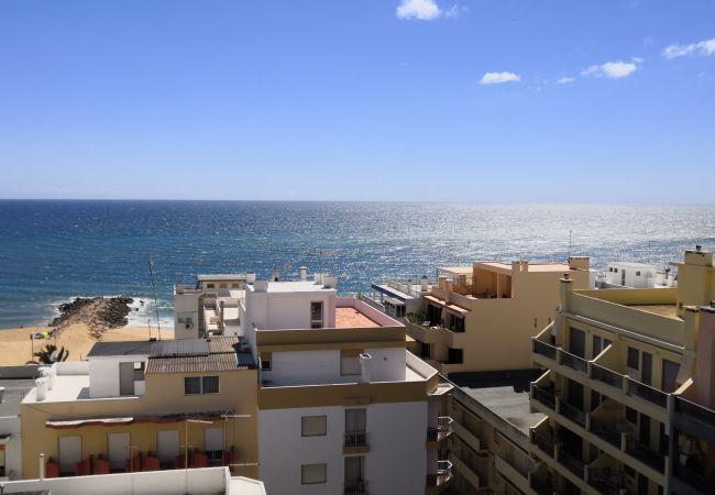 Apartamento em Quarteira - T1 Mira Atlantico 8ºD VISTA MAR 30M PRAIA