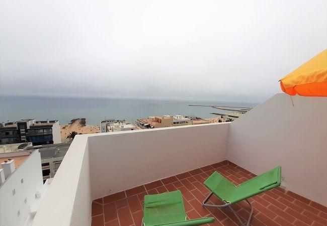 Apartamento em Quarteira - T1 M. Atlantico 10º - VISTA PANORAMICA & AC